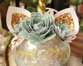 Medium Unicorn Ornament