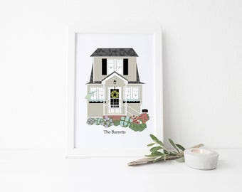 Custom Home Art Prints