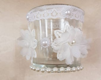 Shabby Chic Candle Tealight Holder