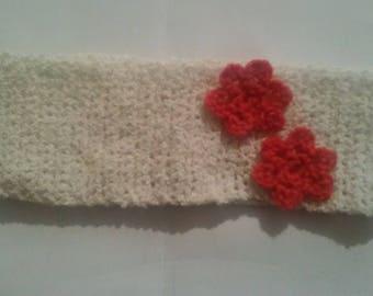 Crochet headband for baby 0/1 year
