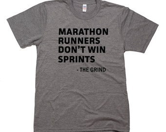 Marathon Runners Don't Win Sprints