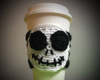 Coffee mug cozy  jack skellington, mike wazowski, harry potter.