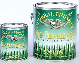 General Finishes High Performance Top Coat . Water Based.