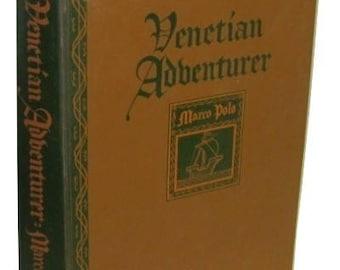 Venetian Adventurer MARCO POLO Book * Hardcover 1947 * Stanford University Press