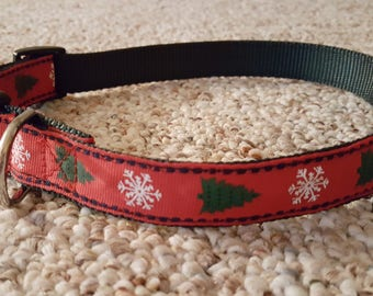 Holiday Tree/Snowflake Collar