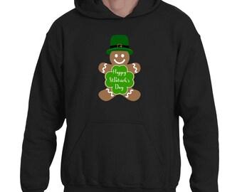 Happy St. Patrick's Day Funny Shamrock Irish Hoodie