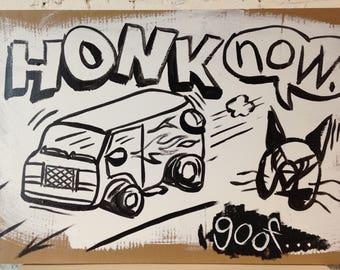 Honk Now