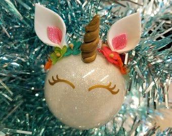 Personalized Unicorn Ornaments | Unicorn Decor | Unicorns |