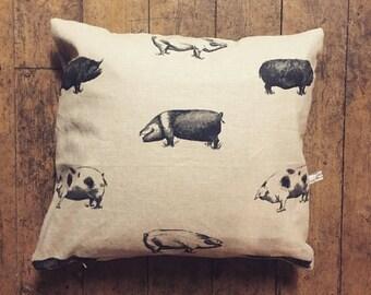 Pig Cushion by Feversham