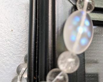 Clear  Quartz Bracelet.