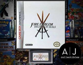 Fire Emblem Sword of Seals Nintendo Gameboy Advance GBA English Translation!