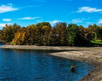 Digital Download - Fall Lake