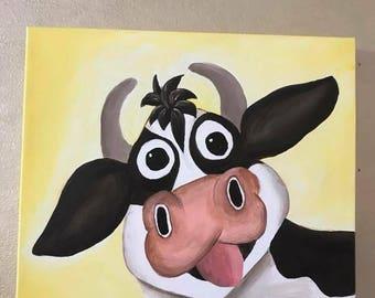 Cheerful Calf