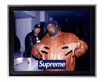 Supreme x Biggie Smalls New York Poster or Art Print