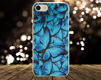 Butterfly iPhone 8 Case iPhone 7 Plus Case iPhone X Case iPhone 8 Plus Case iPhone 6s Case iPhone 7 Case iPhone 6 Case Clear Samsung S8 Case