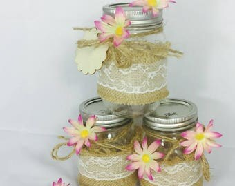 Country Charm  Candy Jars
