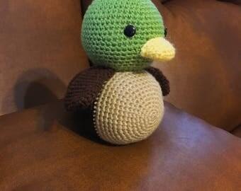 Crochet Mallard Duck