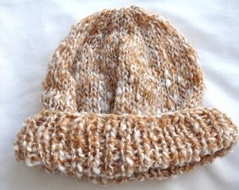 hand-spun wool beanie