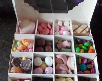 Filled sweet box