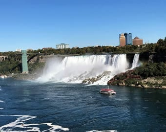 Niagra Falls Looking into Buffalo, NY