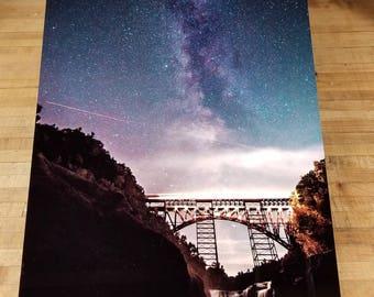 Milky way at Letchworth