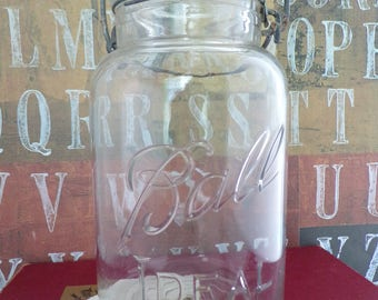 Vintage Ball Ideal Mason Jar - (1923-1933)