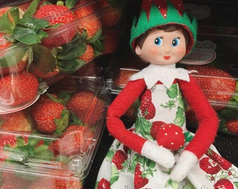 Elf on the shelf dress • So Berry Cute Dress