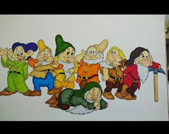 Seven Dwarves A3