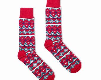 socks Bohemian Cotton mix