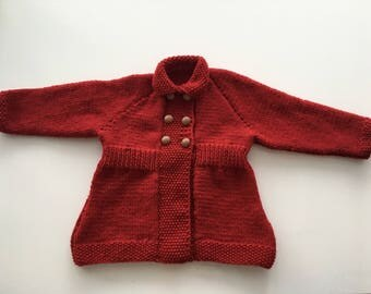 Knitted Molly cardi-coat