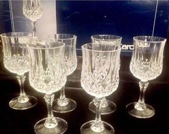 Cristal D'arques Genuine Lead Crystal Glasses