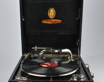 "Old Gramophone ""Odeon Orator""  20th Century"