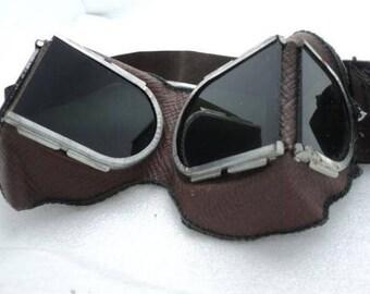 old, Soviet, USSR, welding glasses, black, sunglasses, Steampunk