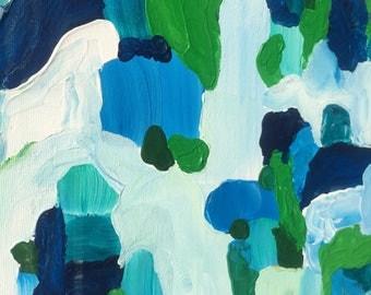 "Redeemer 11""x14"" abstract Acrylic on Canvas"