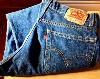 Vintage 517 Levis Jeans, MADE IN USA,  Boot Cut Men's Size, Waist 34 Length 34, Levi's Jeans