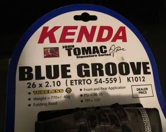 KENDA New Blue Groove 26 x 2.10 Tubeless Bicycle Tire ETRTO 54-559 K1012