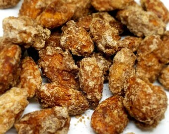 English Toffee Roasted Flavored Almonds