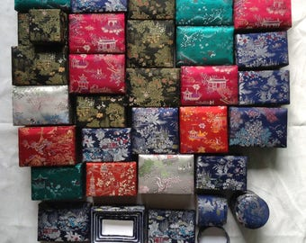 Stock Pz. 110 Damask Silk Boxes