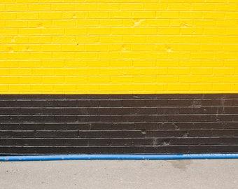 Black, Yellow & Blue