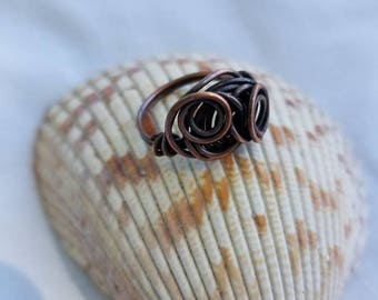 Copper Ring  Size 6 1/2