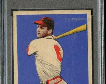 1948 Leaf #4 Stan Musial HOF Rookie RC-PSA 2-Centered