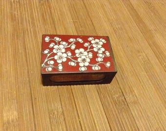 Vintage Cloisonne Matchbox