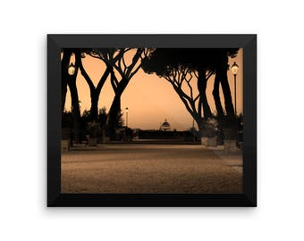 Framed Print of the Vatican