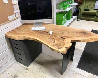 Hardwood office table