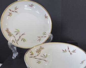 "Edelstein Bavaria Soup Bowls/Bombay Pattern/Set of 3/7.5"" Diameter"