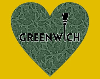 Love Greenwich Mini Print