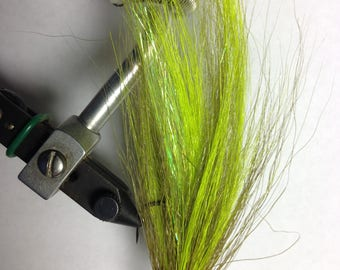Lime/Olive Trout/Bass Streamer