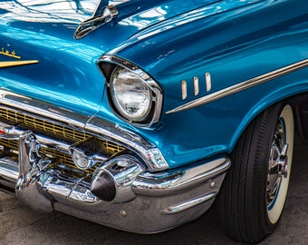 1957 Bel Air Fine Art Print
