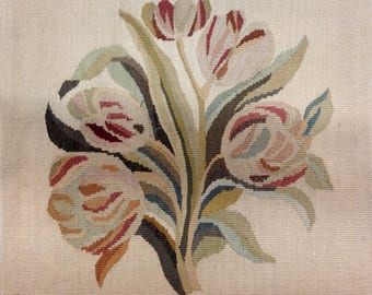 Floral Aubusson Tapestry Pillow