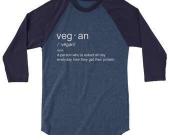 Vegan slogan t-shirt, funny vegan tshirt, vegan defined tee, Funny Tee, Cute Vegan Shirt, Funny Vegan T-shirt, Veganism T-shirt